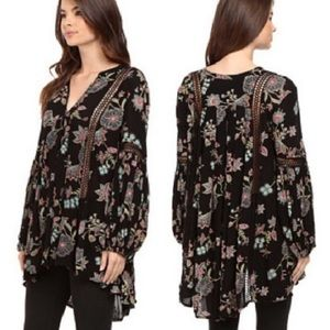 Free People Just The Two Of Us Tunic Swing Dress